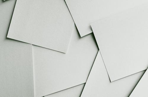 offline marketing image of blank paper